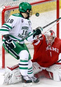 Everything was going in, including this Dillon Simpson goal (photo credit to gfherald.com)